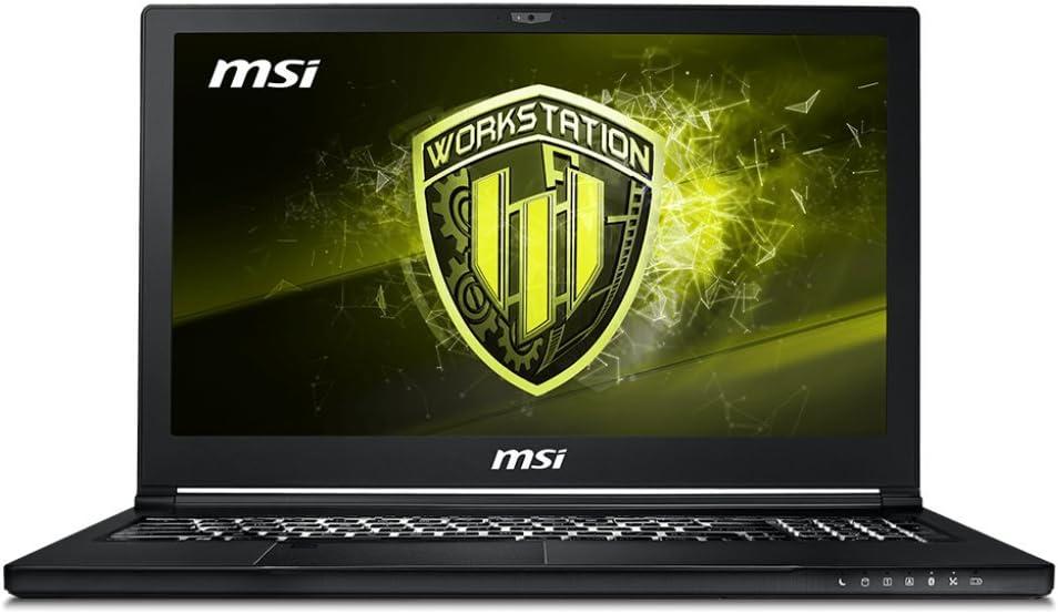MSI WS63 8SJ-013XES - Ordenador portátil de 15.6