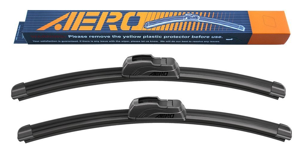 AERO 28'' + 16'' OEM Quality All Season Beam Windshield Wiper Blades (Set of 2)