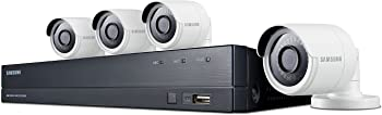 Samsung 8-Ch. 4MP Security System w/ 1 TB Hard Drive, 4-Cam