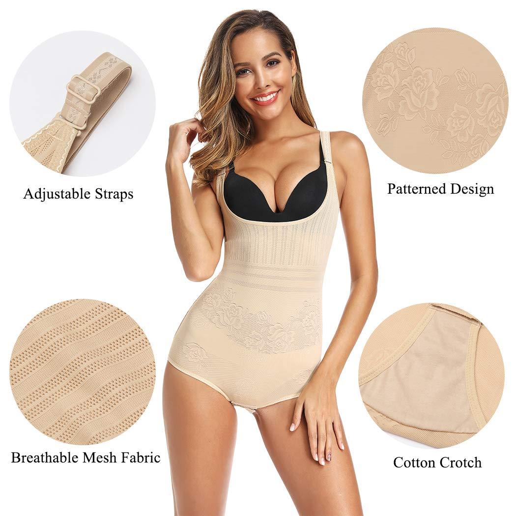Amazon.com: Body moldeador de control de barriga para mujer ...