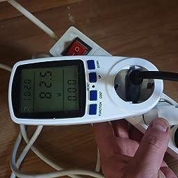 Medidor de Electricidad, Gifort Medidor de Costo de Energía con ...