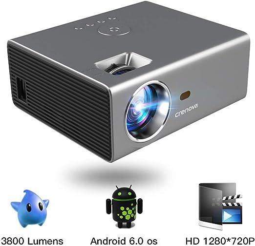 Proyector Inalámbrico LED Android con sintonizador de TV HDMI WiFi ...