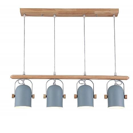 Lámpara colgante LED Oficina 36230 lámpara regulable Oficina Pendelleuchte Altura Regulable de PVC – Lámpara de techo para salón comedor, Modell 012
