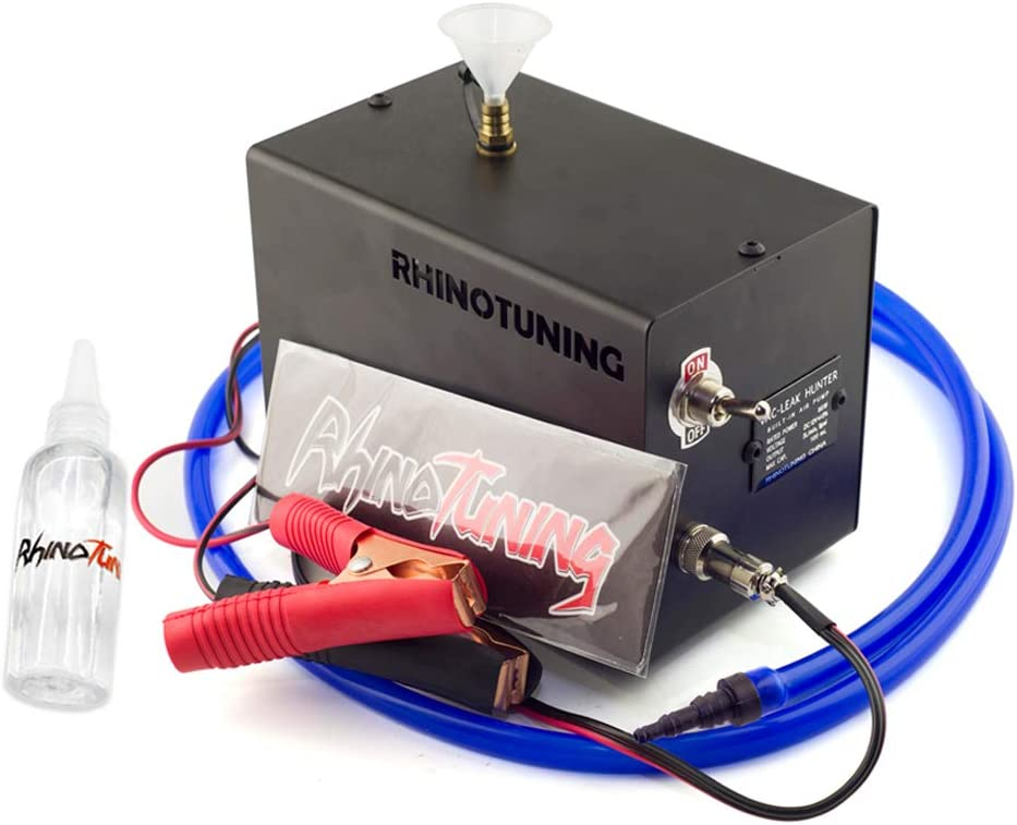 RTRHINOTUNING Automotive Smoke Tester Leak Detector Diagnostic Tool Smoke Generator Vacuum Leak Detection Machine 12V