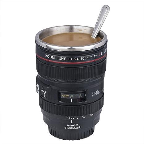 Taza de la lente de cámara / lente taza de café (taza diseño creativo es la simulación para el Canon EF 24-105mm / 1:1 Copa del Café Modelo / INTERIOR ...