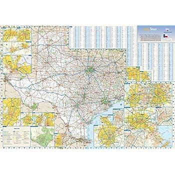 Amazon com : Texas County Map (36