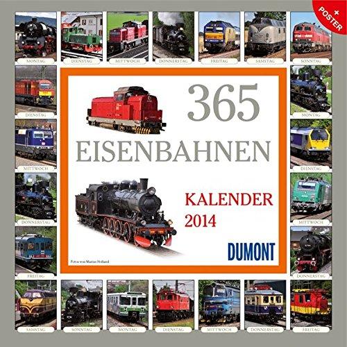 365 Eisenbahnen 2014. Broschürenkalender