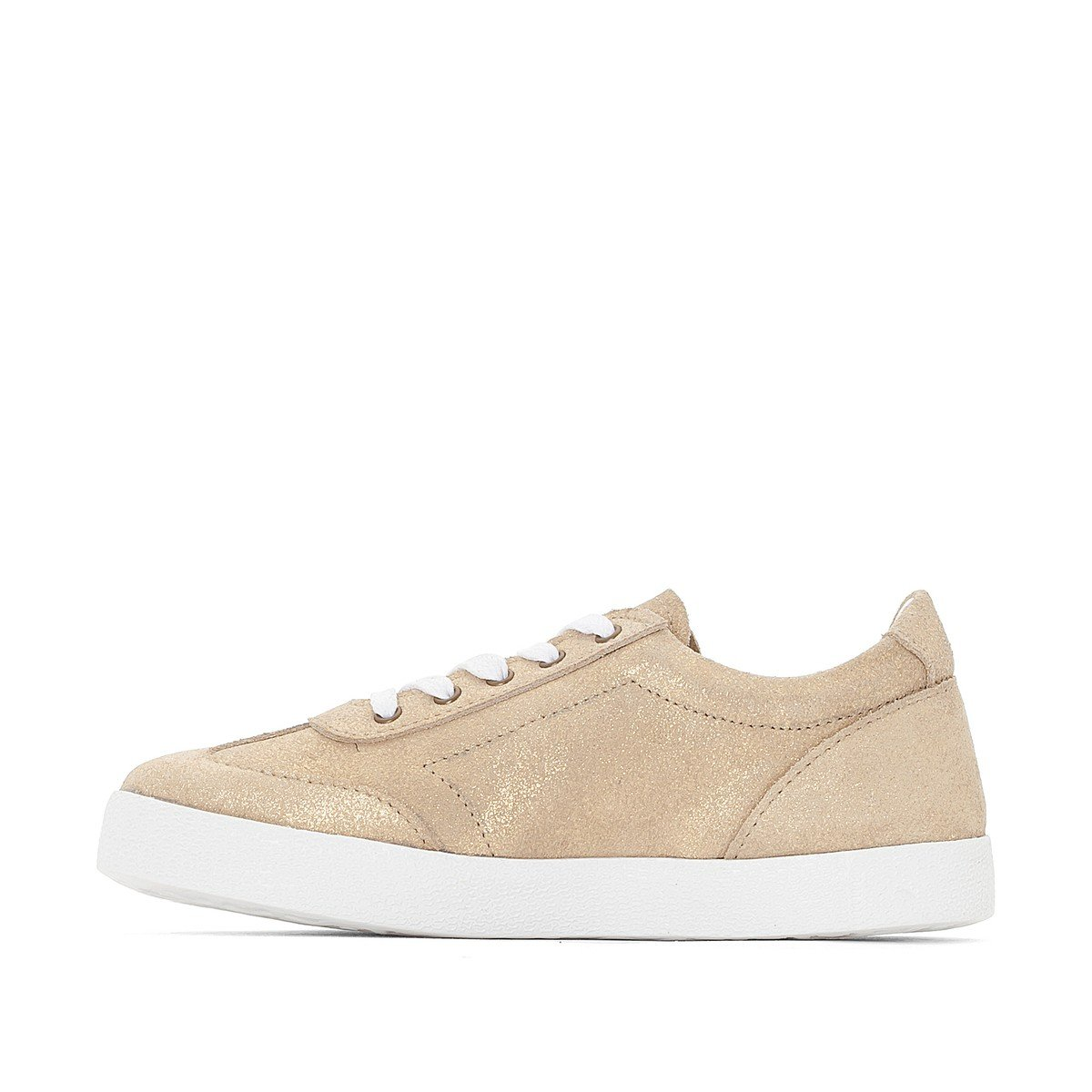 La Redoute Collections Big Girls Suede Trainers 26-35