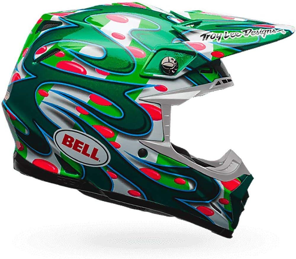 Bell Mx 2017 Moto 9 Flex Erwachsene Helm Mcgrath Replica Green Größe Xl Auto