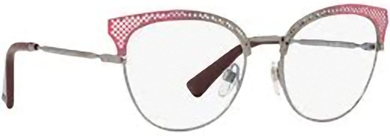 Virginia Round Oversized Women/'s Pink Clear Lens Glasses