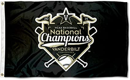 Vanderbilt Commodores World Series Champs Flag and Banner
