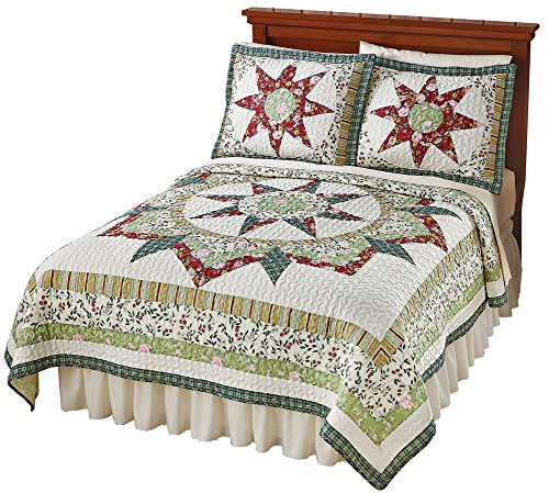 Country Star Floral Patchwork Heirloom Quality Lightweight Q