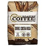 coffee bean costa rica - Dark Costa Rica Tarrazu, Whole Bean, Fresh Roasted Coffee LLC. (5 lb.)