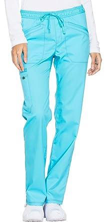 c99bcfe27c7 Amazon.com: Dickies Essence DK106 Mid Rise Straight Leg Drawstring ...