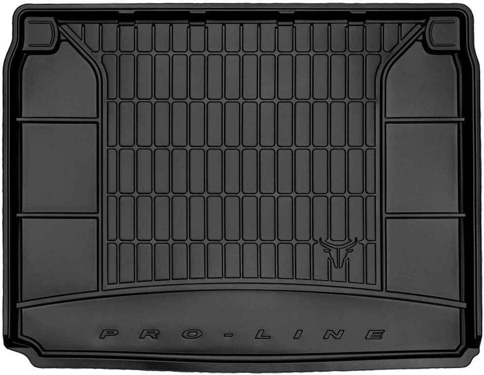 Antid/érapant DBS Tapis de Coffre Auto Simple dentretien Caoutchouc Haute qualit/é 1766580 sur Mesure Rebords Sur/élev/és Bac de Coffre pour Voiture