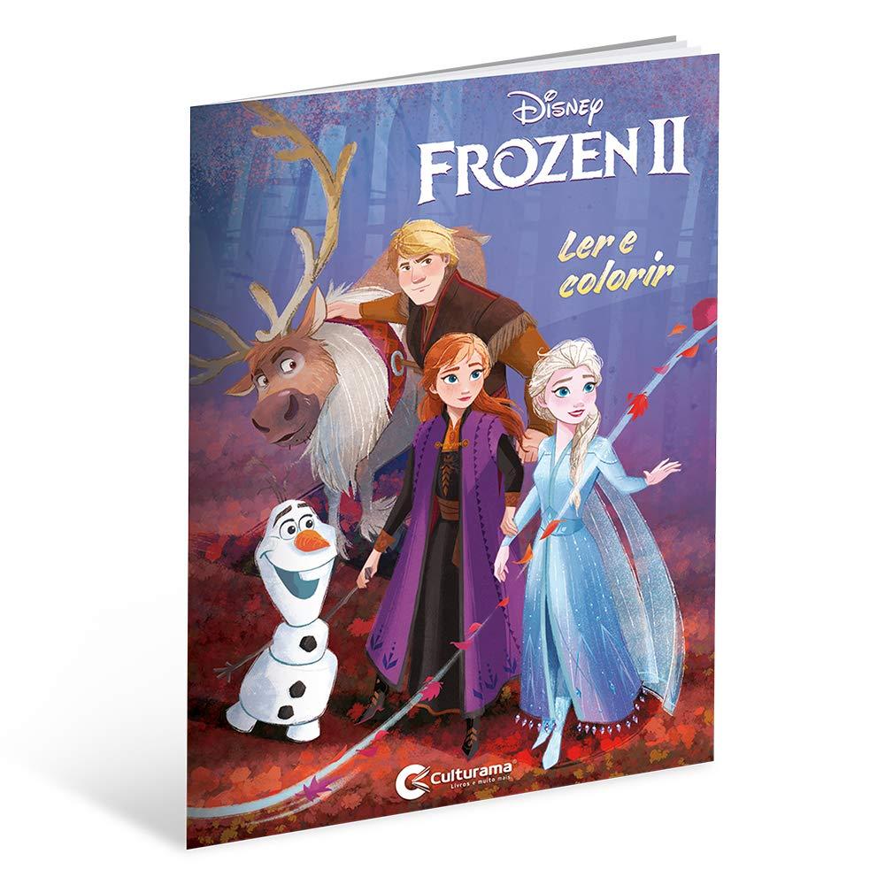 Ler E Colorir Frozen 2 Livros Na Amazon Brasil 9788594725943