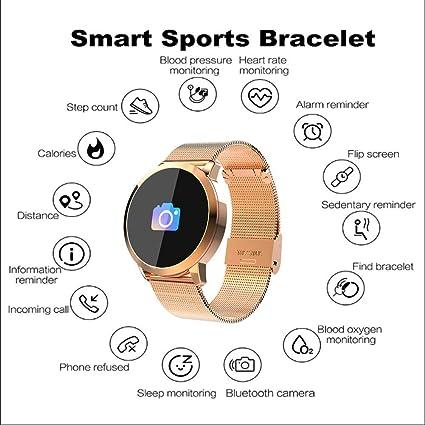 Amazon.com: RSTJ-Sjsw Fitness Activity Tracker Bluetooth Smart Wristband Pedometer Bracelet with Step Counter,Calorie Counter,Sleep Monitor: Electronics