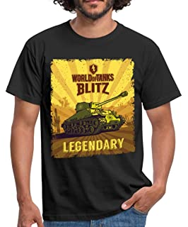 Spreadshirt World of Tanks Blitz Heavy Metal Men's T-Shirt