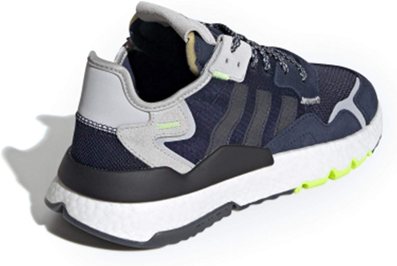 adidas Originals Herren Nite Jogger Pumps Collegiate Navy Legend Ink Grey Two