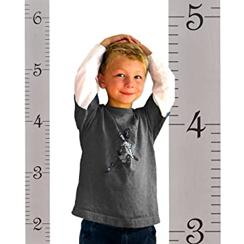 Amazon Growth Chart Art Hanging Wooden Height Growth Chart