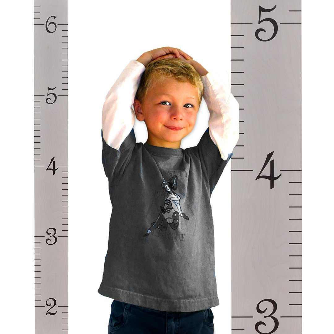 Best rated in kids baby growth charts helpful customer growth chart art hanging wooden height growth chart to measure baby child grandchild geenschuldenfo Gallery