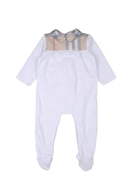 Burberry - Chaqueta Deportiva - para bebé niño Blanco Bianco ...