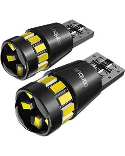 24 V 2825 luce di posizione 2 Pack T10 W5W 24-SMD 3014 Chipsets Lampadine LED auto,POMILE DC12 V illuminazione targa luci interni lampada da lettura