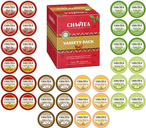 Cha4TEA 36 Count Variety Multiple Breakfast product image