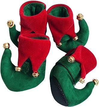 LPATTERN Botas de Mascota Disfraz de Elfo para Navidad Zapatos de ...