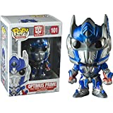 Funko - Figurine Transformers - Optimus Prime Metallic Exclu Pop 10cm - 0849803040260