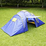 4-5-Person-Waterproof-Camping-Tent-21-Room-Family-Tent-Ultralight-Outdoor-Hiking-Camping-Tunnel-Tent