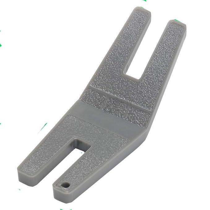 ngosew Viking Husqvarna limpieza placa/botón prensatelas para Reed - para todas las máquinas de coser: Amazon.es: Juguetes y juegos