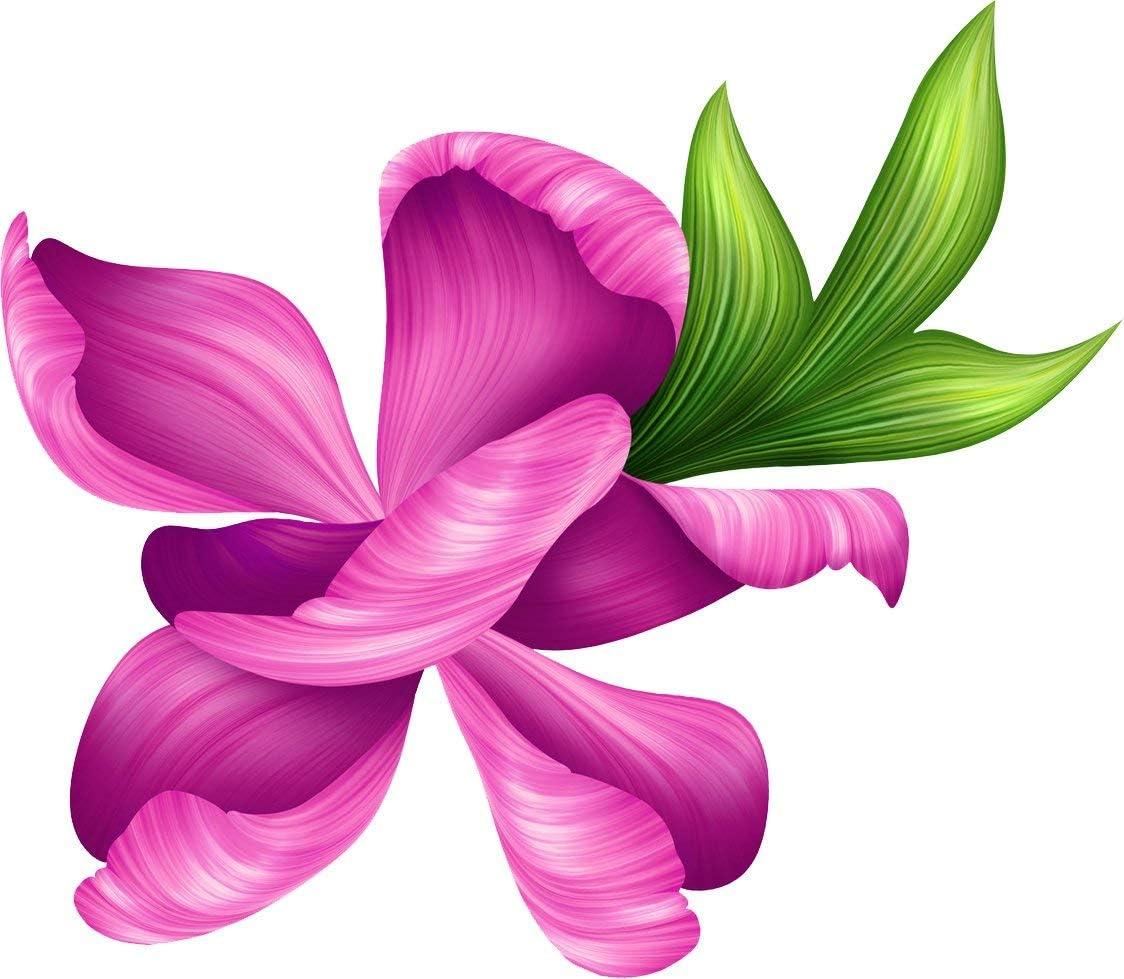 Set of 3 = New Sunshine /& Flower Magnets = 1 Sun 1 Hibiscus /& 1 Purple Flower