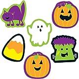 Carson Dellosa Education Carson Dellosa – Halloween Mini Colorful Cut-Outs, Fall Classroom Décor, 36 Pieces, Seasonal (120179