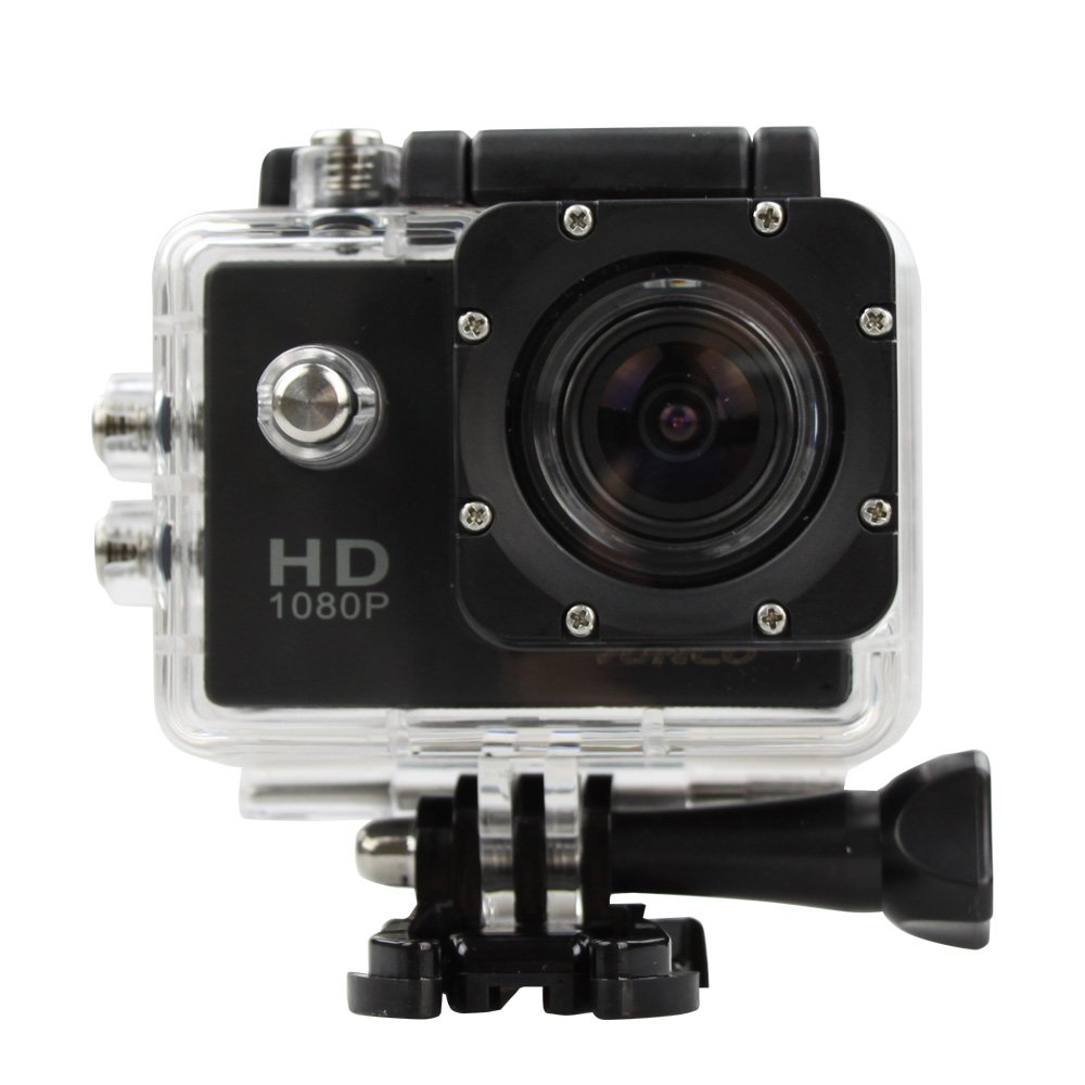 TALLA 1080P. Flylink SuncoA® Dream 2 Action Camera HD 1080p 12MP Waterproof Sports Camera (1080P), [Importado de Reino Unido]