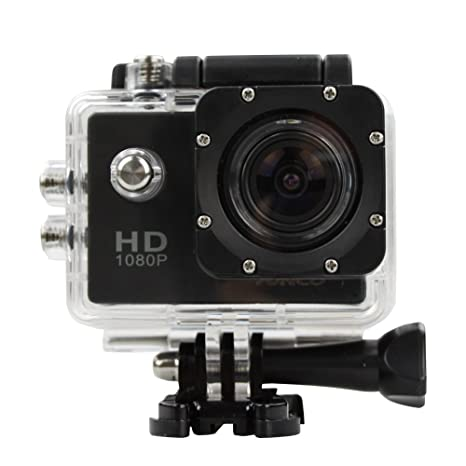 a0b2ef8148db Action Camera HD 1080p 12MP Waterproof Sports Camera  Amazon.co.uk ...