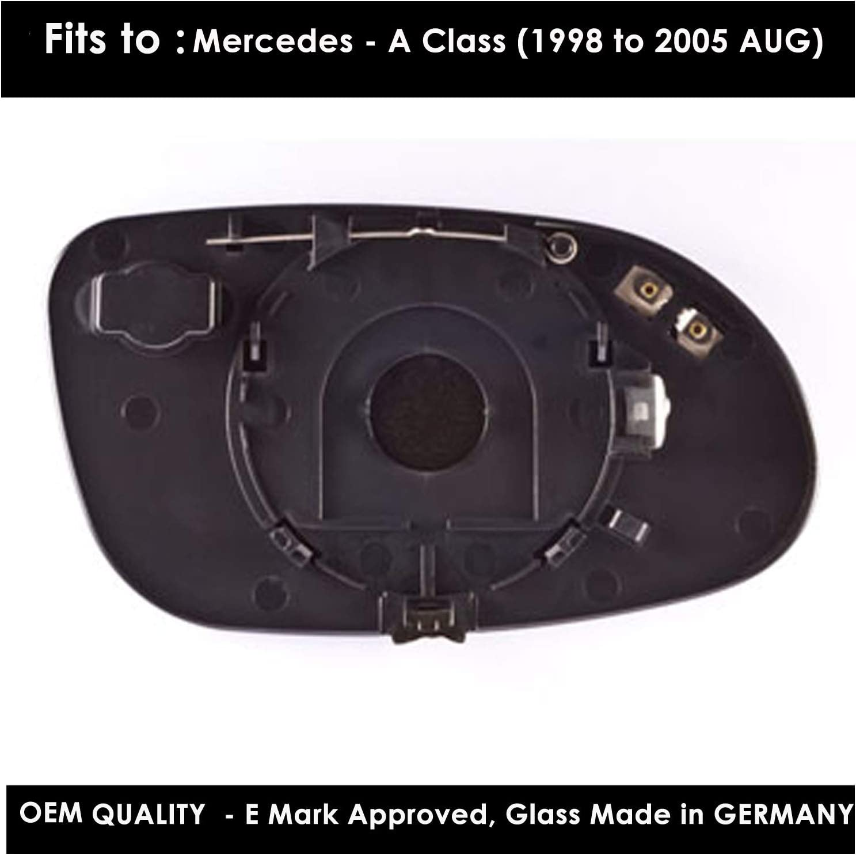 3 Series 1998,1999,2000,2001,2002,2003,2004 Silver Aspheric Door//Wing Mirror s RH Driver Side