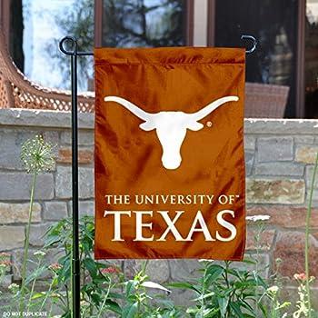 Amazon.com: Texas Longhorns Hook\'em Horns Garden Flag: Sports ...