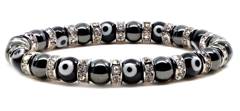 Accents Kingdom Magnetic Hematite Round Bead Bracelet BsZ50