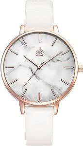 Alienwork SK Minimalist Reloj Mujer Ultra-Delgada Elegante