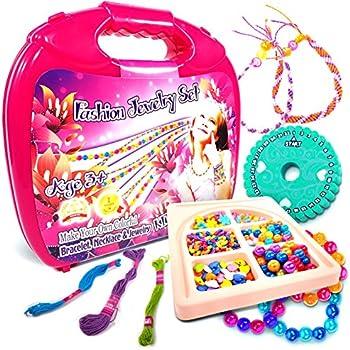 Toys World Shop Jewelry Making Kit Fashion Studio Set Make Your Own Bead Necklace