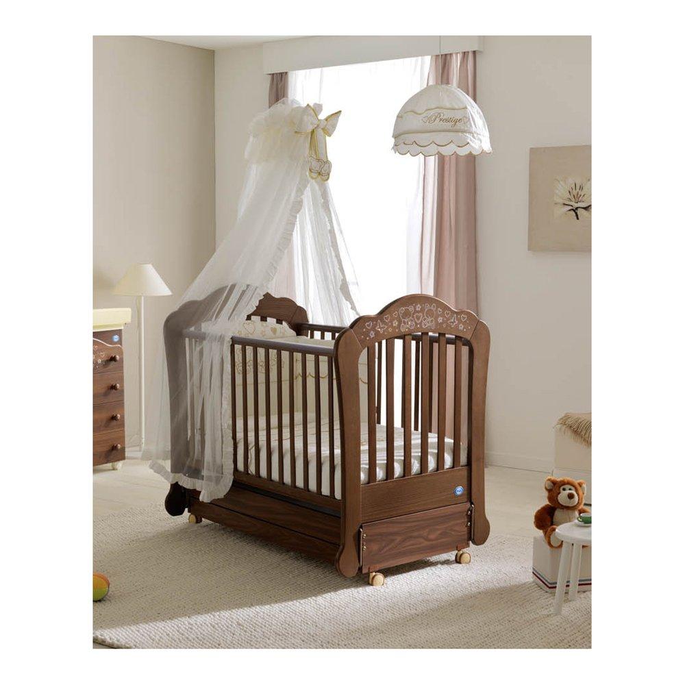 Babybett Kinderbett aus Holz Cielo Luxe Micuna Bianco-bianco brillante
