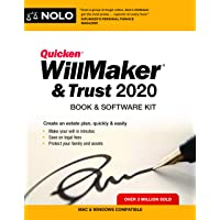 Image for Quicken Willmaker & Trust 2020: Book & Software Kit