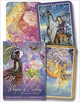 Whispers of Healing Oracle Cards: Angela Hartfield, Josephine Wall