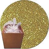 Glitter My World! Craft Glitter: 25lb Box: Morning Gold