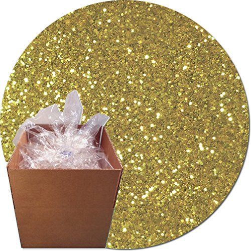 Glitter My World! Craft Glitter: 25lb Box: Morning Gold by Glitter My World!