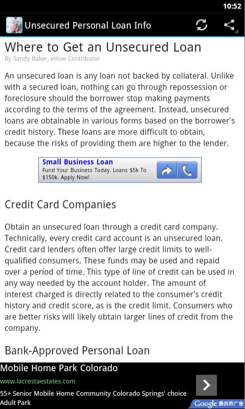 Amazon Unsecured Personal Loan Appstore For Android