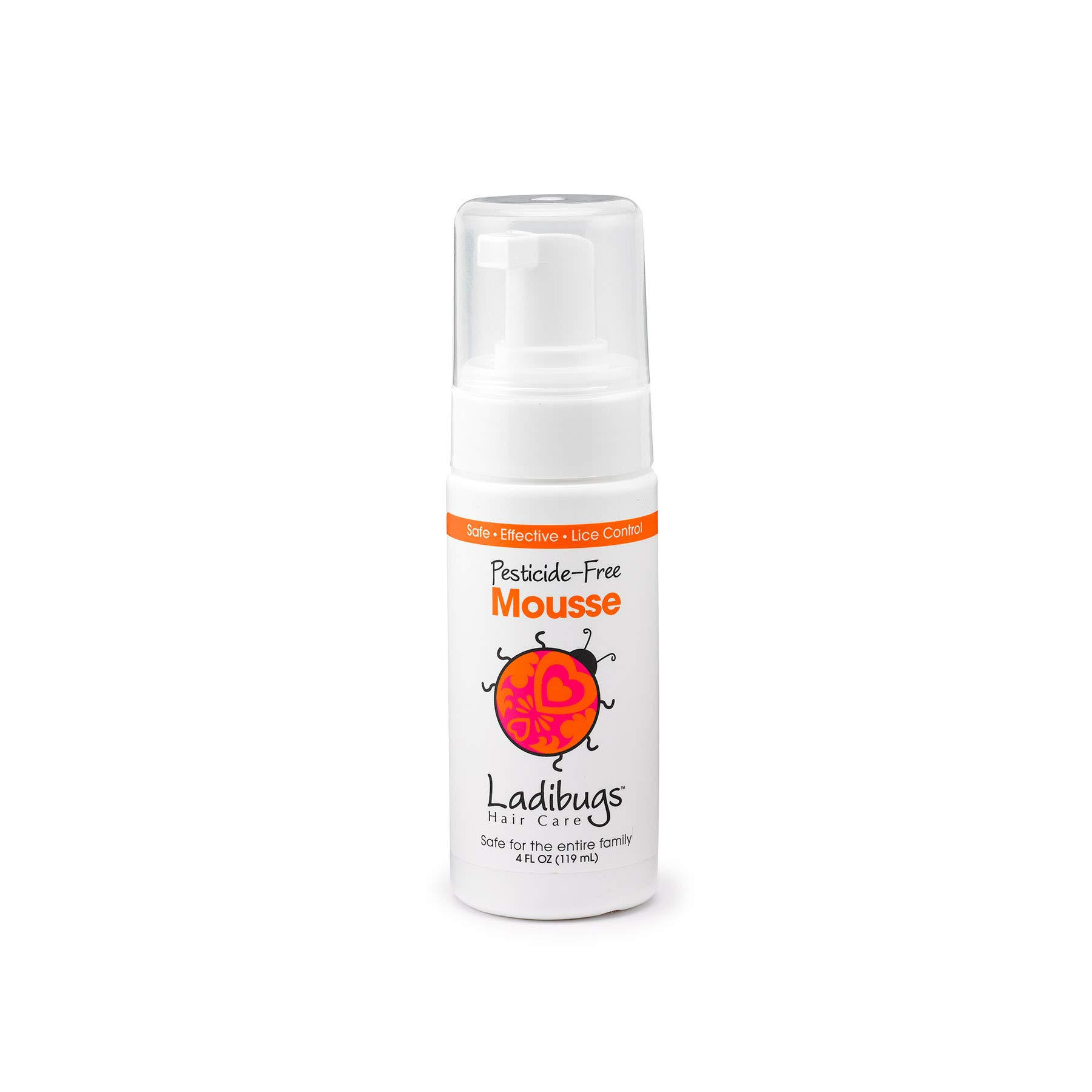 Ladibugs Lice Elimination Mousse 4oz | Nit & Egg Removal | Natural, Non-Toxic, Safe Treatment | Refill Pack. by LADIBUGS
