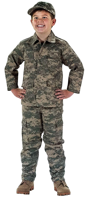 Private Label Kids ACU Digital Pattern Army Pants