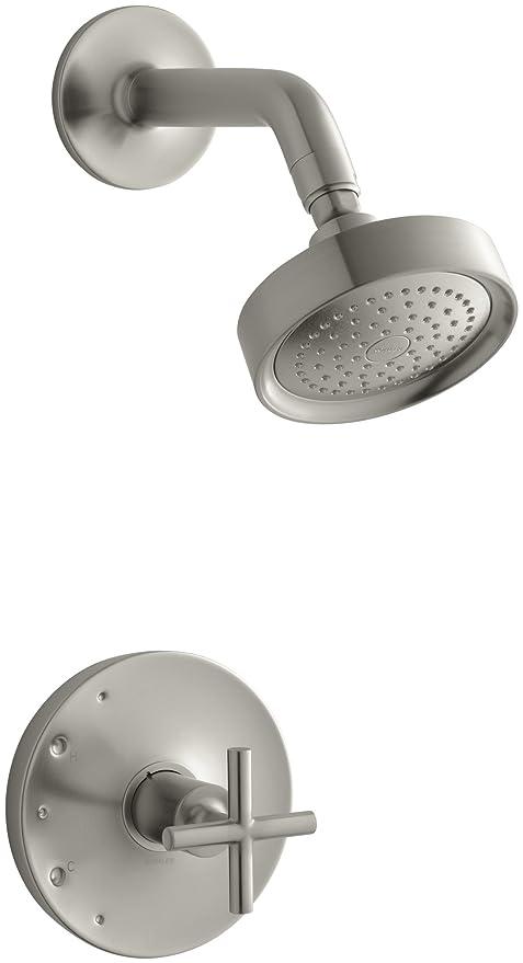 Kohler K T14422 3 Bn Purist Rite Temp Pressure Balancing Shower